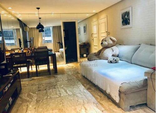 Imagem 1 de 16 de Apartamento Com 2 Dormitórios À Venda, 80 M² Por R$ 2.450.000,00 - Leblon - Rio De Janeiro/rj - Ap7240