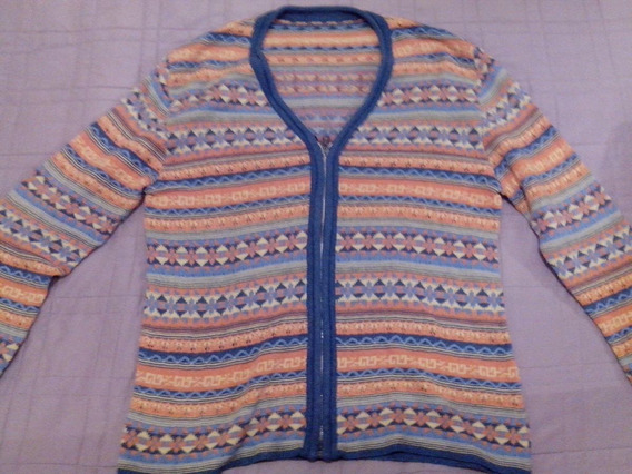 Saco Crochet Vintage Primaveral Mujer