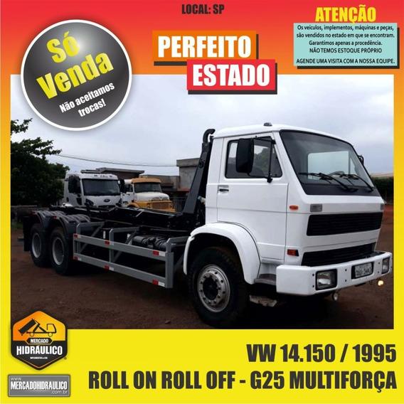 Vw 14.150 / 1995 - Roll On Roll Off G25 Multiforça