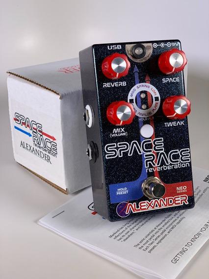 Alexander Space Race Reverb - Novo Garantia, Nota Fiscal