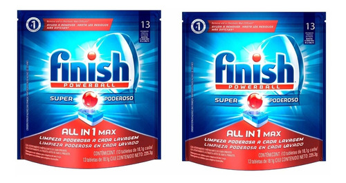 Finish Detergente Lavavajillas 26 - Unidad a $2112