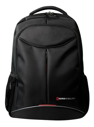 Imagen 1 de 6 de Mochila Backpack Para Laptop De 17 Pulgadas Tig-115bk Negro