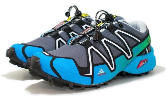 Tênis Speedcross 3 4 Trava Confortável Masculino Leve