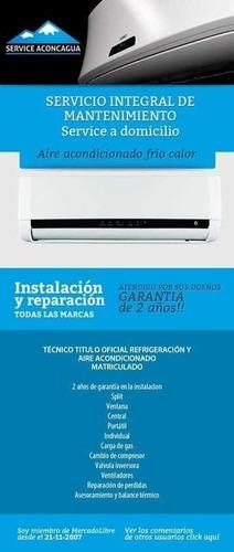 Instalador Aire Acondicionado Heladeras Lavarropas Service