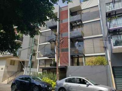 Renta Departamento En Colonia Narvarte, Calle Anaxagoras
