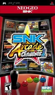 Snk Arcade Classics Vol 1 Sony Psp