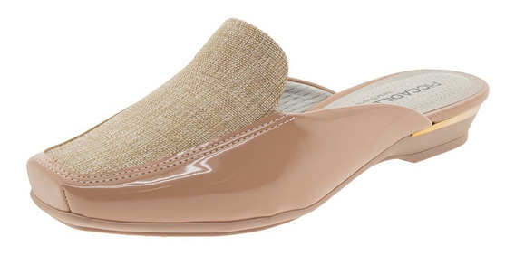 Sapato Feminino Mule Nude/natural Piccadilly - 147097