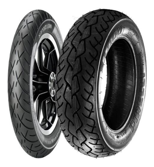 Combo Pneu Yamaha V-max (antiga) Metzeler + Pirelli