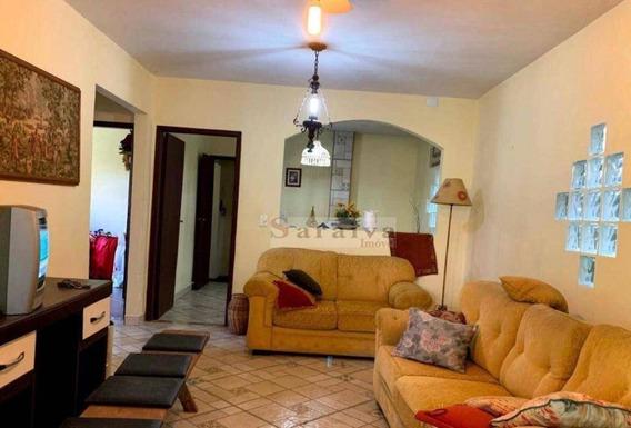Chácara Com 3 Dormitórios À Venda, 620 M² Por R$ 380.000,00 - Jardim Clube De Campo - Santo André/sp - Ch0031