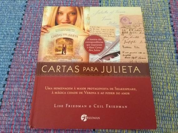 Cartas Para Julieta - Lise & Ceil Friedman (livro Físico)
