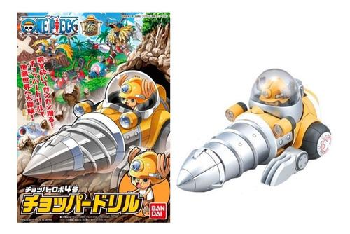 Imagen 1 de 3 de  Chopper Robot 4 Chopper Drill One Piece Bandai Model Kit