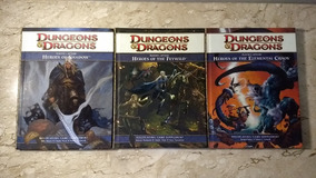Rpg Dungeons & Dragons 4th - Kit Players Option (3 Livros)