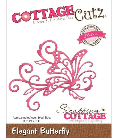 Troqueladora Mariposa Elegante Cottage Cutz