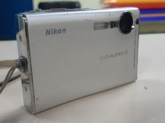 Câmera Digital Nikon Coolpix S9 6.1 Megapixels S/acessórios