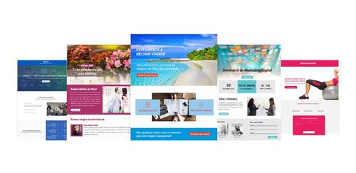 Imagem 1 de 3 de Criação De Landing Page (página/site) De Produtos E Serviços