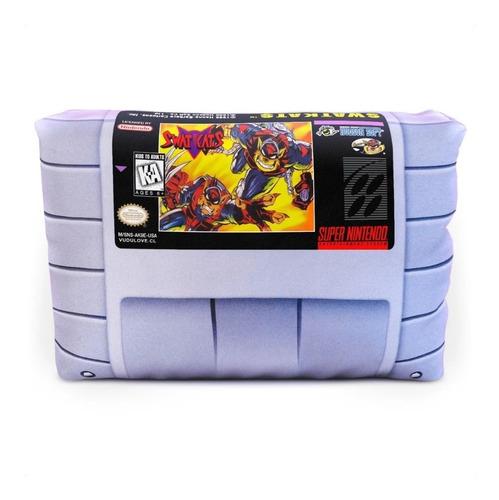 Cojín Super Nintendo Swat Cats 30x20cm Vudú Love