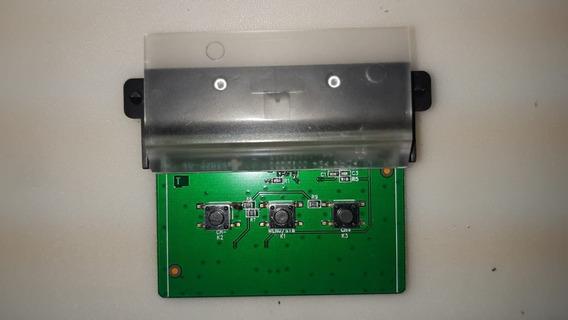 Placa Botões Mais Sensor Tv Tcl 32s4900s