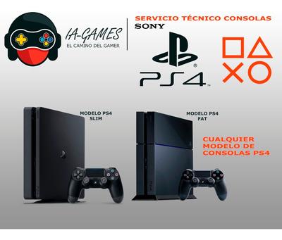 Servicio Técnico Consolas Ps4, Ps3 Y Xbox One