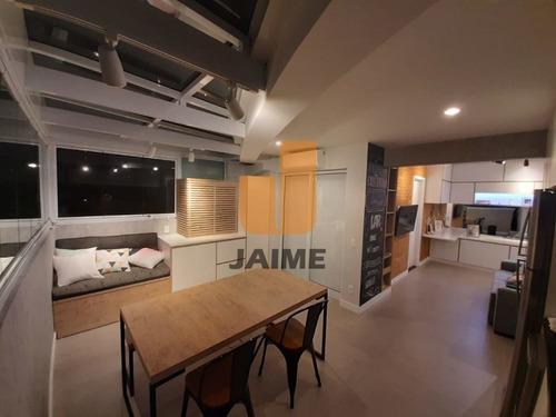Apartamento Para Venda No Bairro Barra Funda Em São Paulo - Cod: Ja16075 - Ja16075