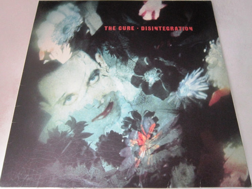 The Cure -disintegration Insert Importado Europa Lp