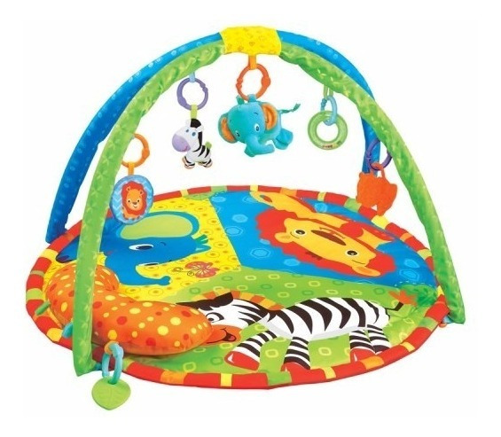 Alfombra Gimnasio Felcraft Fitch Baby Zoo Juguetes Didactico