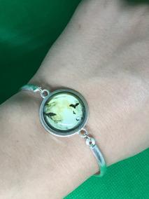 Pulseira Bracelete Feminino Cabochão