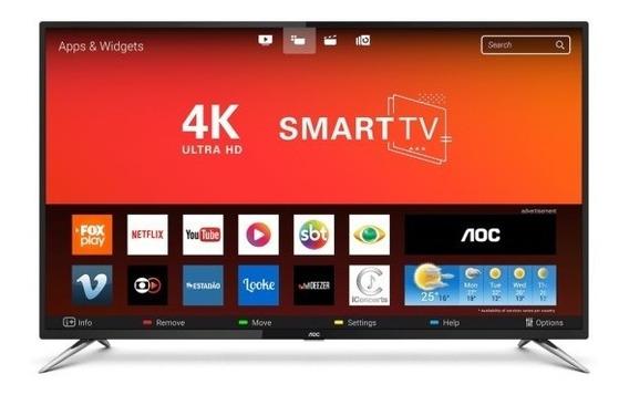 Tv Led 50 Polegadas 4k Smart Aoc
