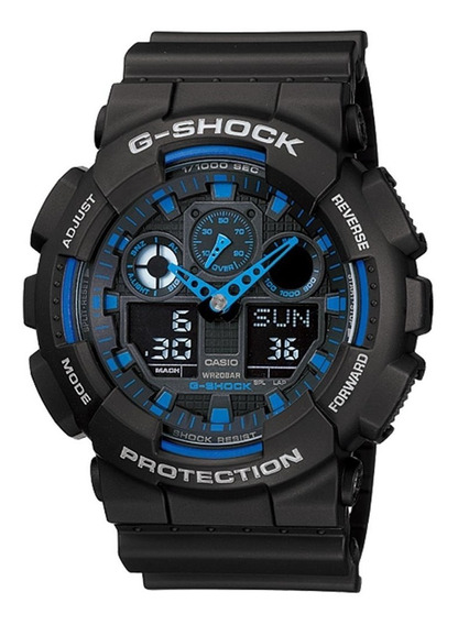 Relógio Casio G-shock Ga-100-1a2dr (nota Fiscal) Ga100