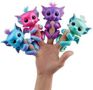 Fingerlings Bebe Dragon Glitter Interactivo Tapimovil 3580