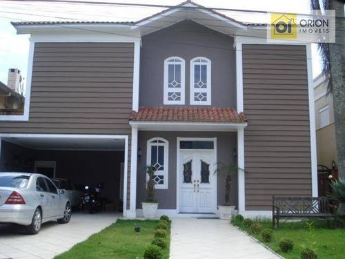 Casa Com 4 Dormitórios À Venda, 375 M² Por R$ 1.850.000,00 - Morada Das Flores (aldeia Da Serra) - Santana De Parnaíba/sp - Ca0702