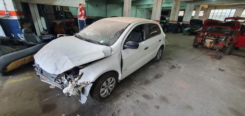 Volkswagen Gol Trend 1.6 Pack1 Año 2014 Chocado