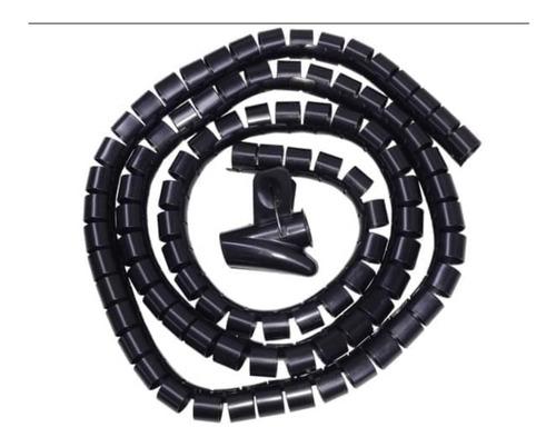 Imagen 1 de 5 de Ordenador Cubre Cables De 25mm X 2m Espiral C/ Accesorio