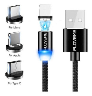 Cable Usb Magnético Tipo C Y iPhone