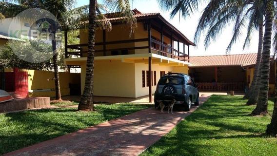 Casa Residencial À Venda, Parque Da Represa, Paulínia. - Ca0344