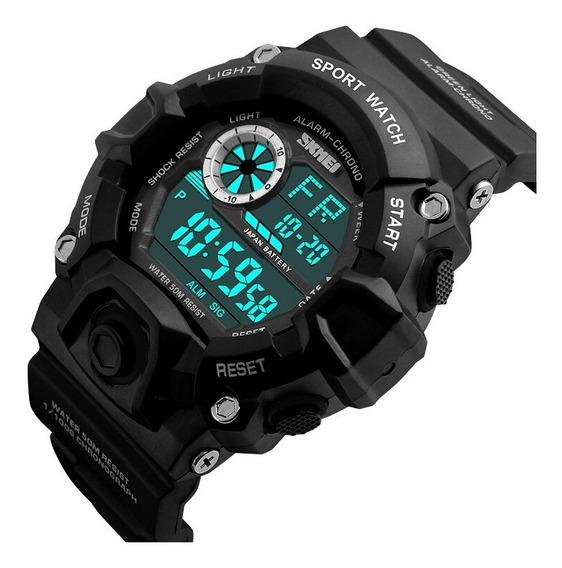 Relógio Skmei Militar Esportivo 1019 Á Prova D