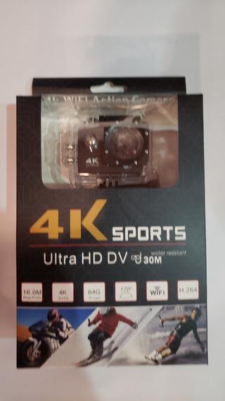 Camera Gocam Action Pro Sport 4k Full Hd Prova Agua Wifi.