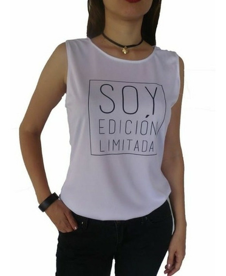 Blusas Dama Camisa Moda 2019 Frases Vogue Franela Tendencia