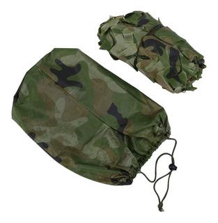 Red De Camuflaje Del Ejército Militar De Camuflaje De La Red
