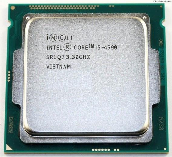 Processador Core I5 4590 3.3ghz Lga1150 Oem + Cooler