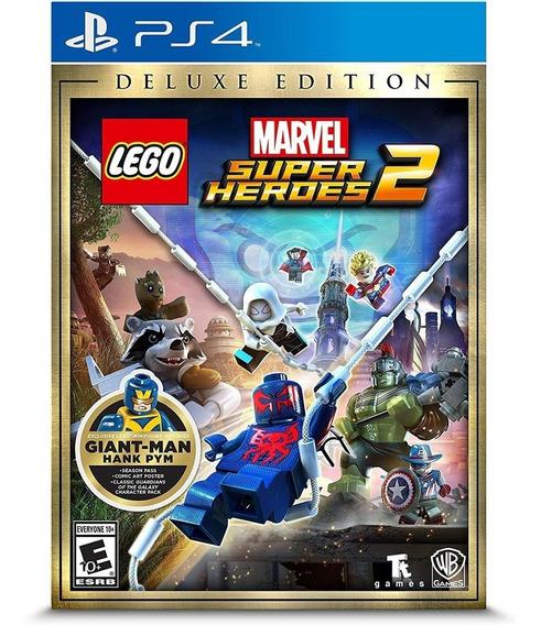 Lego Marvel Super Heroes 2 Deluxe Ed - Ps4 Lacrado