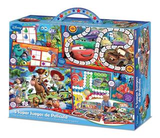 5 Super Juegos Toy Story Cars Monsters Caja Gigante Kreker