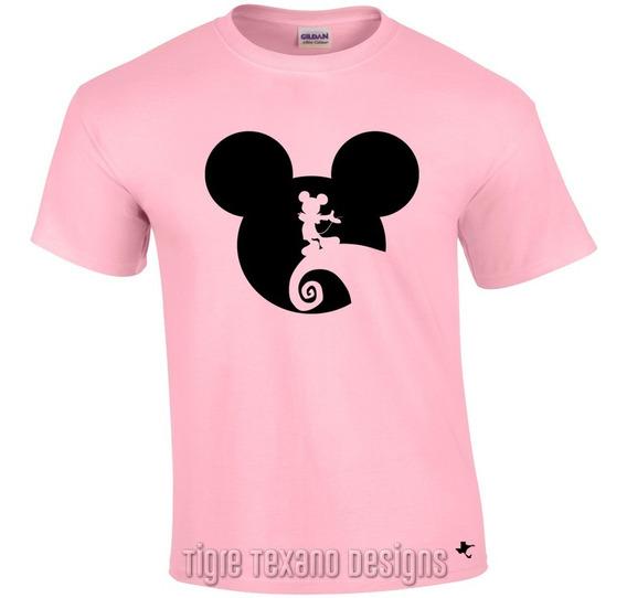 Playera Dibujo Animado Mickey Mouse M.1 Tigre Texano Designs