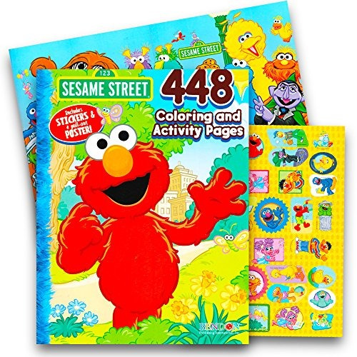 ELMO Birthday Party Coloring Pages Sesame Street Cookie   Etsy   500x500