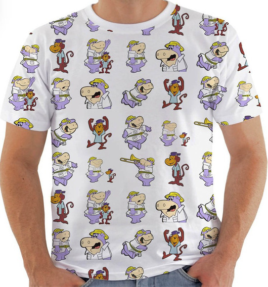 Camiseta Vy 150 Peter Potamus E Tico Mico