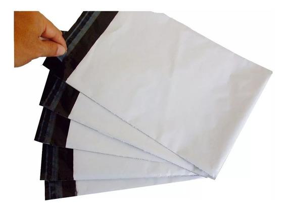 Embalagem Plástica Lacre Sedex Correio Saco 32x40 500 Und