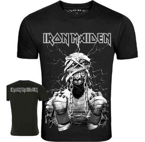 Camisa Iron Maiden - Power Slave. 100% Algodão