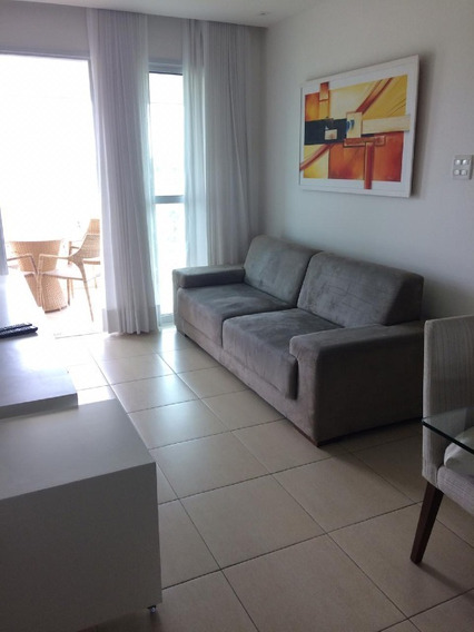 Apartamento Para Aluguel, 2 Quartos, 2 Vagas, Alphaville I - Salvador/ba - 1142