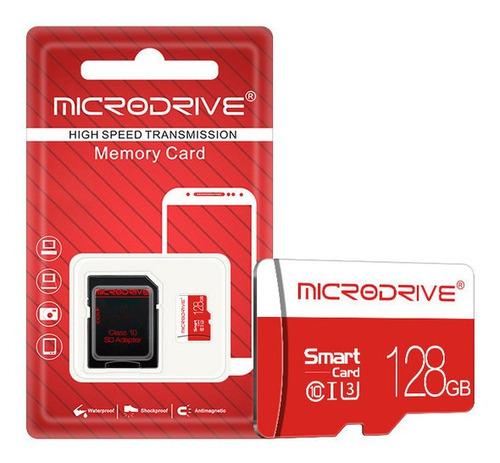 Imagem 1 de 1 de 128gb Classe 10 Micro Sdxc Cartão De Memória Flash Com Ada