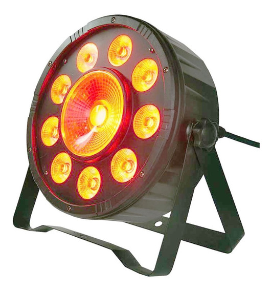 Canhão Iluminação 9x10w + 1x30w Led Cob Rgb 120 Watts Total