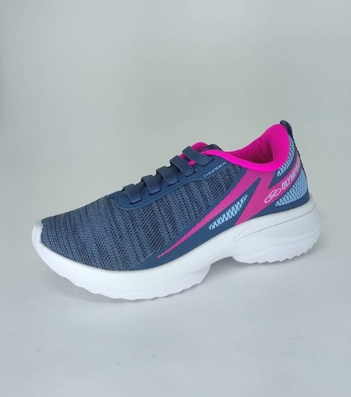 Tenis Olympikus Thunder Kids 734 Juvenil Do 28/36 Original